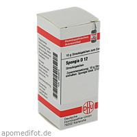 SPONGIA D12, 10 G, Dhu-Arzneimittel GmbH & Co. KG