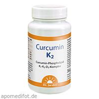 Curcumin K2 Dr. Jacob's, 60 ST, Dr.Jacobs Medical GmbH