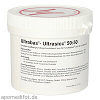 ULTRABAS Ultrasicc 50:50 Salbe, 250 G, Hecht-Pharma GmbH