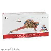 Nasara Kinesiotape 5cmx5m rot, 6 ST, Mikros GmbH