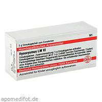 LM HYOSCYAMUS VI, 5 G, Dhu-Arzneimittel GmbH & Co. KG