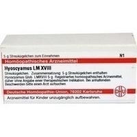 LM HYOSCYAMUS XVIII, 5 G, Dhu-Arzneimittel GmbH & Co. KG