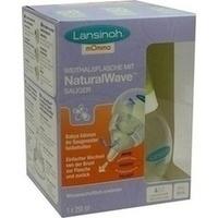 Lansinoh mOmma Weithalsflasche 250ml mit Sauger, 1 ST, Lansinoh Laboratories Inc. Niederlassung Deutschland