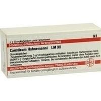 LM CAUSTICUM HAHNEMA XII, 5 G, Dhu-Arzneimittel GmbH & Co. KG