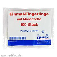 EINMAL FINGERLING PLASTIK, 100 ST, Param GmbH