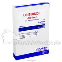 LEIBBINDE ELAST KLETTV EXTRA GROSS, 1 ST, Param GmbH