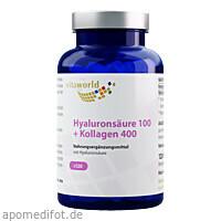 Hyaluronsäure 100+ Kollagen 400, 120 ST, Vita World GmbH