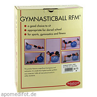 Gymnastikball Rehaforum 75cm blau-metallic, 1 ST, Rehaforum Medical GmbH