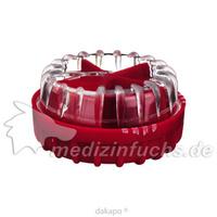 Tablettendispenser Ingrid rot, 1 ST, Param GmbH