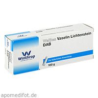 WEISSES VASELIN LICHT DAB10, 100 G, Zentiva Pharma GmbH