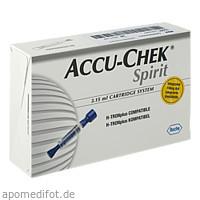 ACCU-CHEK Spirit 3.15ml Ampullen-System, 5 ST, Roche Diabetes Care Deutschland GmbH