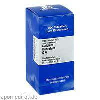 BIOCHEMIE 1 Calcium fluoratum D 6 Tabletten, 200 ST, ISO-Arzneimittel GmbH & Co. KG