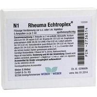 Rheuma Echtroplex, 5X2 ML, Weber & Weber GmbH & Co. KG