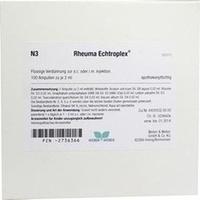 Rheuma Echtroplex, 100X2 ML, Weber & Weber GmbH & Co. KG