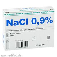 Kochsalzlösung 0.9% Mini-Plasco connect, 10X10 ML, B. Braun Melsungen AG