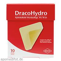 DracoHydro Hydrokoll. Wundauflage 10x10cm, 10 ST, Dr. Ausbüttel & Co. GmbH