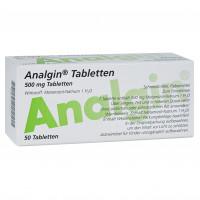 ANALGIN, 50 ST, Abanta Pharma GmbH