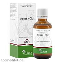 Hepar HOM, 50 ML, Homöopathisches Laboratorium Alexander Pflüger GmbH & Co. KG