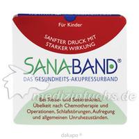 SANA BAND das Gesundheits-Akupressurband f.Kinder, 2 ST, NCM Nahrungsergänzung Naturcos. GmbH