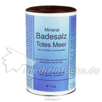 Badesalz Totes Meer, 1 KG, Medesign I. C. GmbH