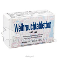 Weihrauch 400mg Tabletten, 100 ST, Bios Medical Services