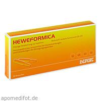 HEWEFORMICA, 10 ST, Hevert Arzneimittel GmbH & Co. KG
