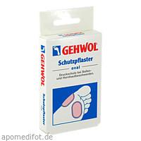 GEHWOL SCHUTZPFLASTER OVAL, 4 ST, Eduard Gerlach GmbH