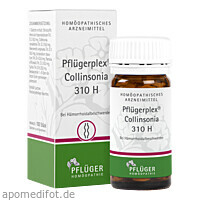 PFLUEGERPLEX Collinsonia 310 H, 100 ST, Homöopathisches Laboratorium Alexander Pflüger GmbH & Co. KG