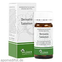 DERIVATIO Tabletten, 100 ST, Homöopathisches Laboratorium Alexander Pflüger GmbH & Co. KG