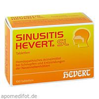 Sinusitis Hevert SL, 100 ST, Hevert Arzneimittel GmbH & Co. KG