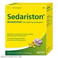 SEDARISTON KONZENTRAT, 100 ST, Aristo Pharma GmbH