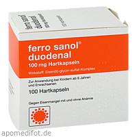 FERRO SANOL DUODENAL magens.res.Pellets in Kapseln, 100 ST, UCB Pharma GmbH