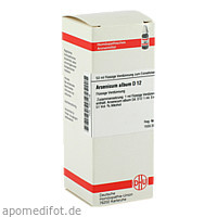 ARSENICUM ALB D12, 50 ML, Dhu-Arzneimittel GmbH & Co. KG