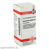 ARSENICUM ALB D200, 10 G, Dhu-Arzneimittel GmbH & Co. KG