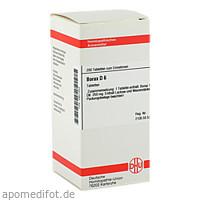 BORAX D 6, 200 ST, Dhu-Arzneimittel GmbH & Co. KG
