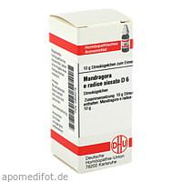 MANDRAGORA E RADIC SIC D 6, 10 G, Dhu-Arzneimittel GmbH & Co. KG