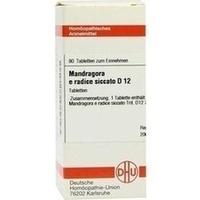 MANDRAGORA E RADIC SIC D12, 80 ST, Dhu-Arzneimittel GmbH & Co. KG
