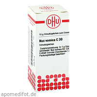 NUX VOMICA C30, 10 G, Dhu-Arzneimittel GmbH & Co. KG