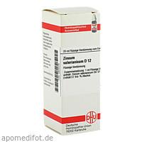 ZINCUM VALER D12, 20 ML, Dhu-Arzneimittel GmbH & Co. KG
