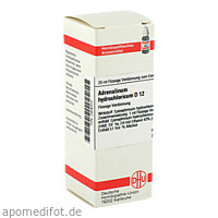 ADRENALIN HYDROCHLOR D12, 20 ML, Dhu-Arzneimittel GmbH & Co. KG