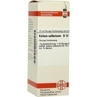 KALIUM SULFURICUM D12, 20 ML, Dhu-Arzneimittel GmbH & Co. KG