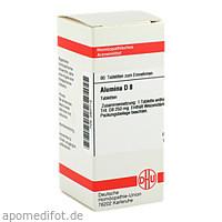 ALUMINA D 8, 80 ST, Dhu-Arzneimittel GmbH & Co. KG