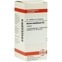AURUM MET D 8, 80 ST, Dhu-Arzneimittel GmbH & Co. KG