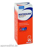 Mucosolvan Kindersaft 30mg/5ml, 100 ML, Sanofi-Aventis Deutschland GmbH GB Selbstmedikation /Consumer-Care