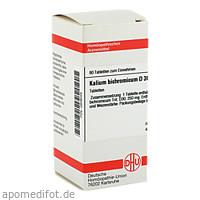 KALIUM BICHROM D30, 80 ST, Dhu-Arzneimittel GmbH & Co. KG