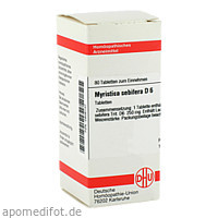 MYRISTICA SEBIF D 6, 80 ST, Dhu-Arzneimittel GmbH & Co. KG
