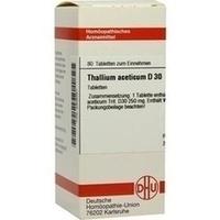 THALLIUM ACET D30, 80 ST, Dhu-Arzneimittel GmbH & Co. KG