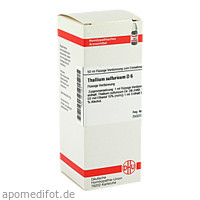 THALLIUM SULF D 6, 50 ML, Dhu-Arzneimittel GmbH & Co. KG