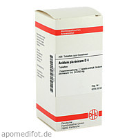 ACIDUM PICRINIC D 4, 200 ST, Dhu-Arzneimittel GmbH & Co. KG