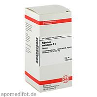 ARGENTUM METALLICUM D 6 Tabletten, 200 ST, DHU-Arzneimittel GmbH & Co. KG